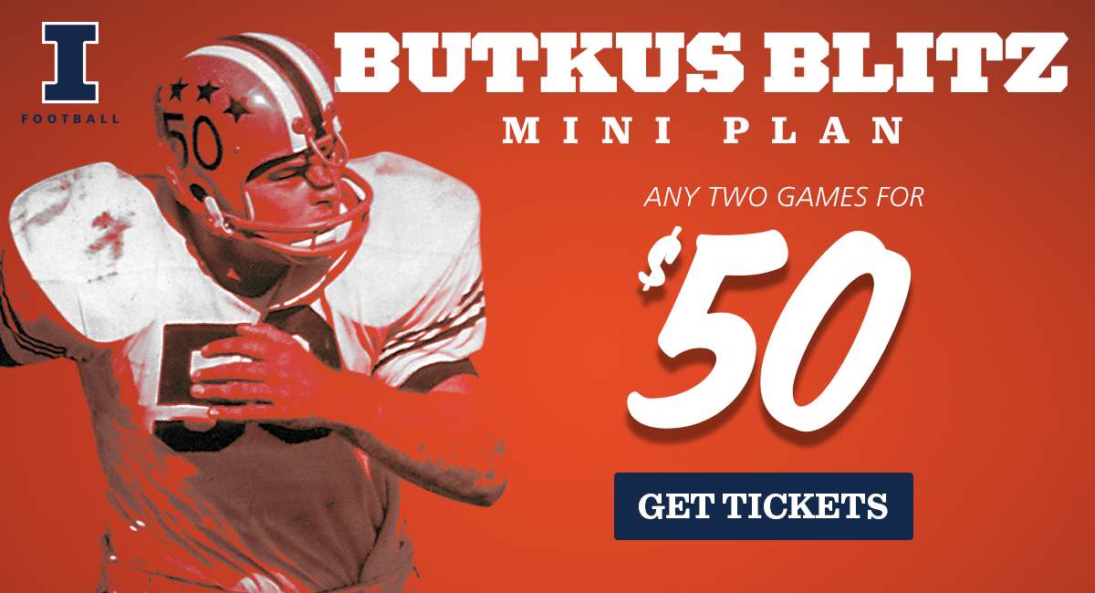 Illinois Football Butkus Blitz Mini Plan