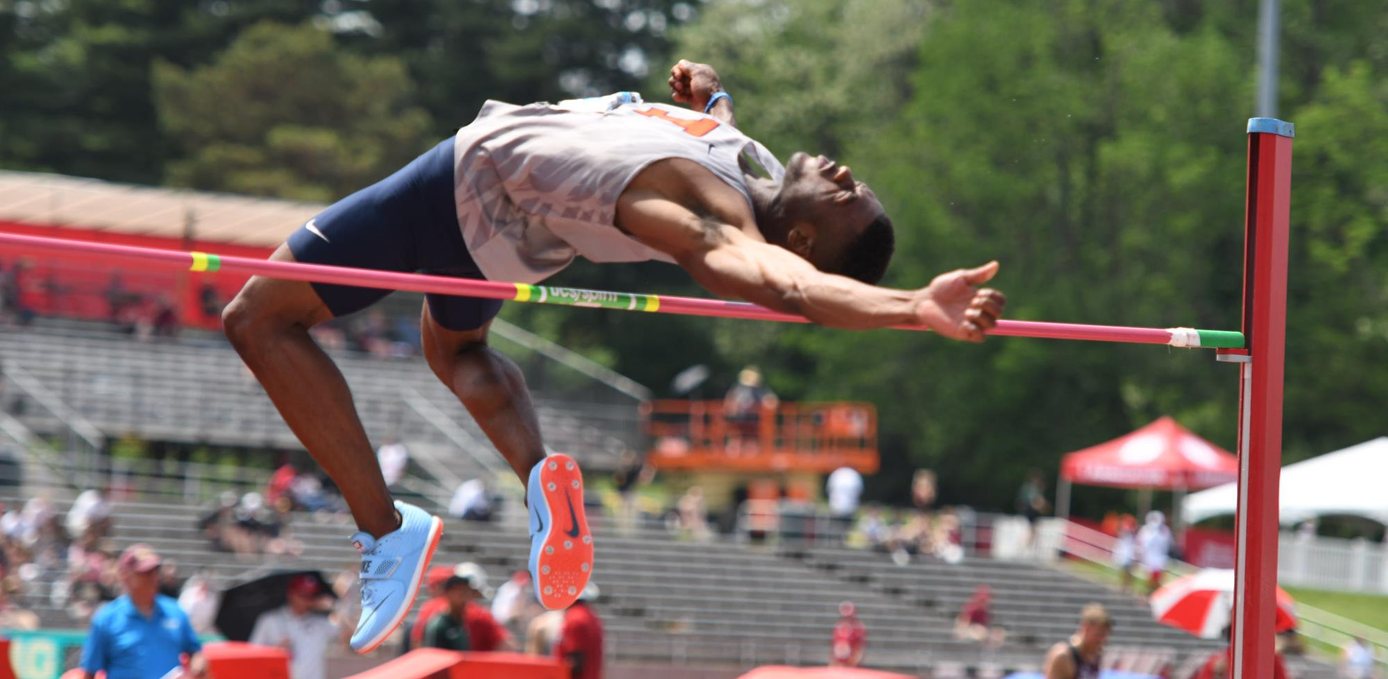 Jonathan Wells Places Third In High Jump At U S Outdoor Championships University Of Illinois Athletics